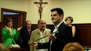 José María Fernández es investido Alcalde de Espartinas el pasado 13 de junio de 2015.  Imagen: Espartinas a Debate.